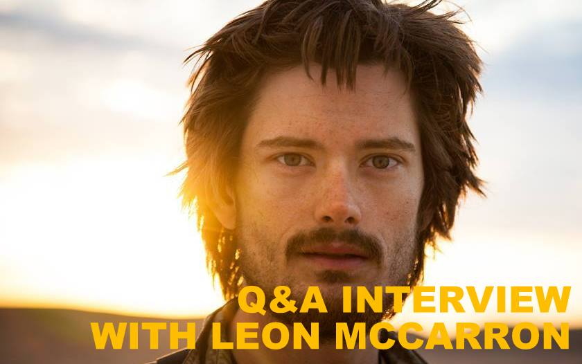 Q&A INTERVIEW WITH LEON MCCARRON