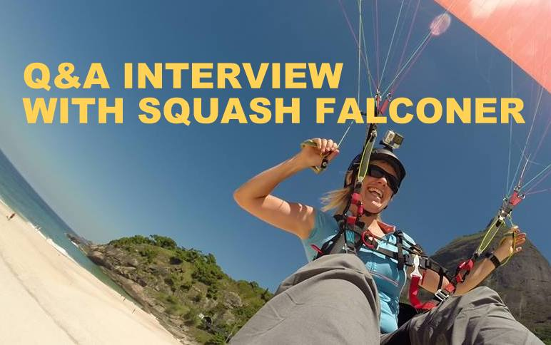 Q&A INTERVIEW WITH SQUASH FALCONER