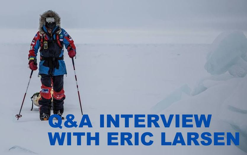 Q&A INTERVIEW WITH ERIC LARSEN