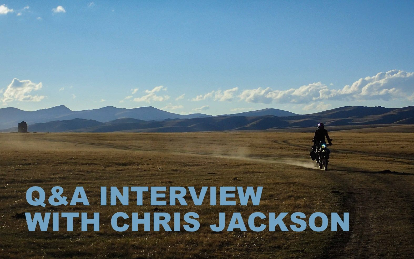 Q&A interview with Chris Jackson
