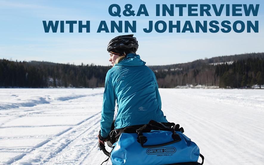 Q&A interview with Ann Johansson