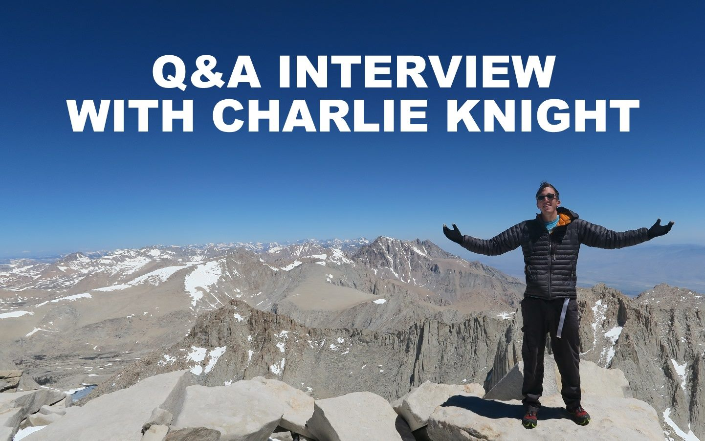 Q&A interview with Charlie Knight