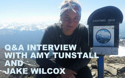 Q&A WITH AMY TUNSTALL & JAKE WILCOX