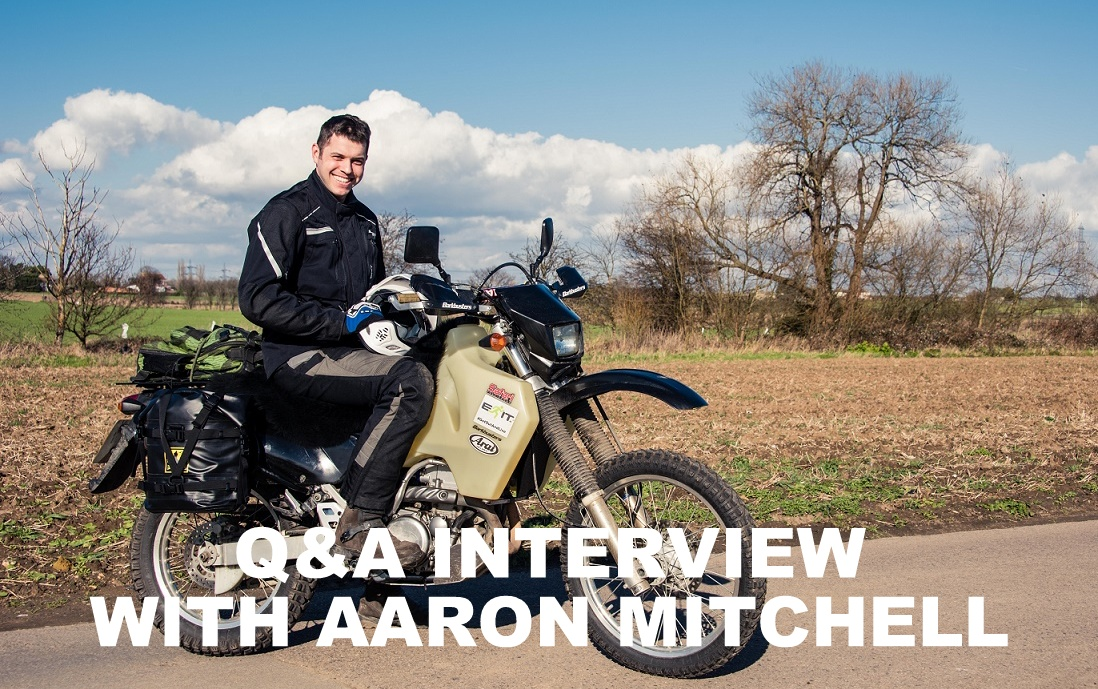 Q&A INTERVIEW WITH AARON MITCHELL