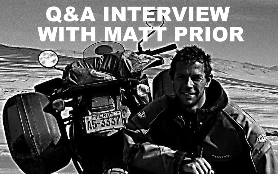Q&A INTERVIEW WITH MATT PRIOR