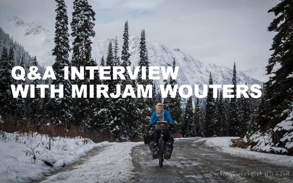 Q&A INTERVIEW WITH MIRJAM WOUTERS