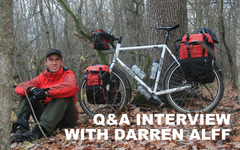 Q&A with Darren Alff