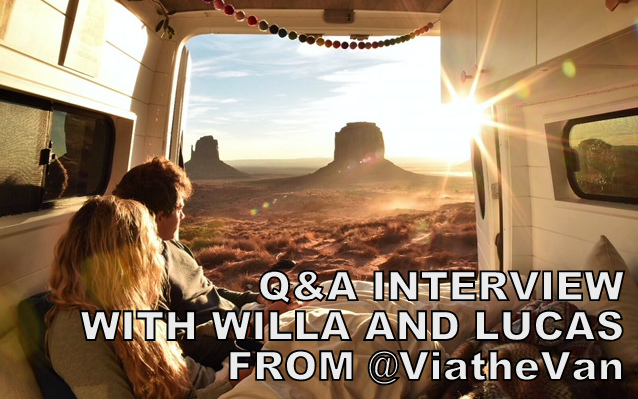 VANLIFE Q&A INTERVIEW WITH WILLA AND LUCAS FROM VIATHEVAN