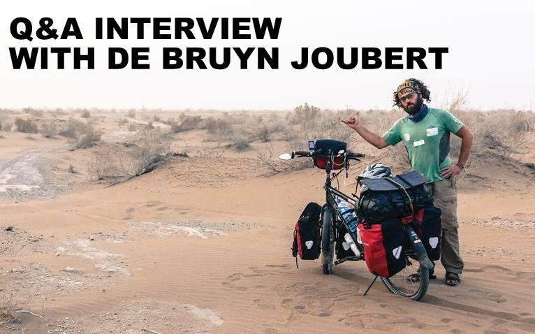 Q&A INTERVIEW WITH DE BRUYN JOUBERT