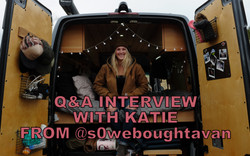 Q&A INTERVIEW WITH KATIE FROM SOWEBOUGHTAVAN