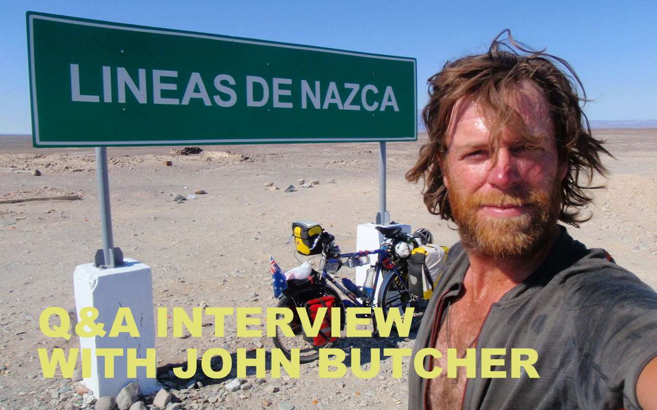 Q&A interview with John Butcher