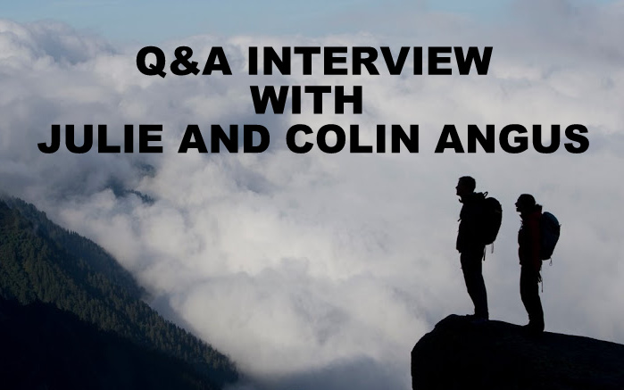 Q&A INTERVIEW WITH JULIE AND COLIN