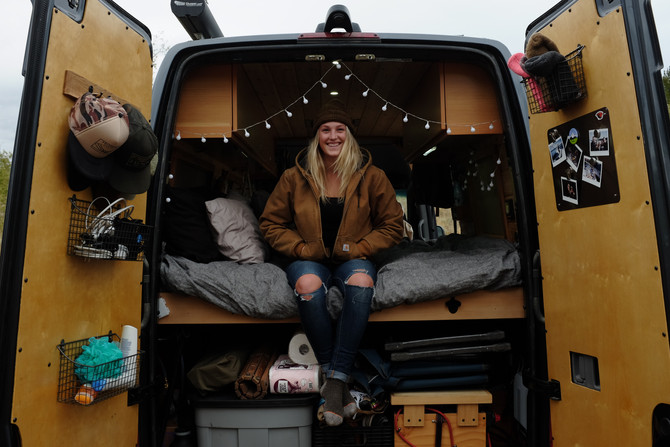 VanLife Q&A Session with Katie from @s0weboughtavan