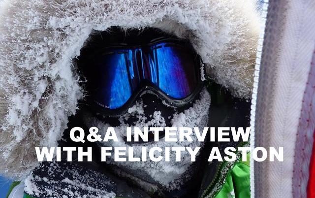Q&A INTERVIEW WITH FELICITY ASTON