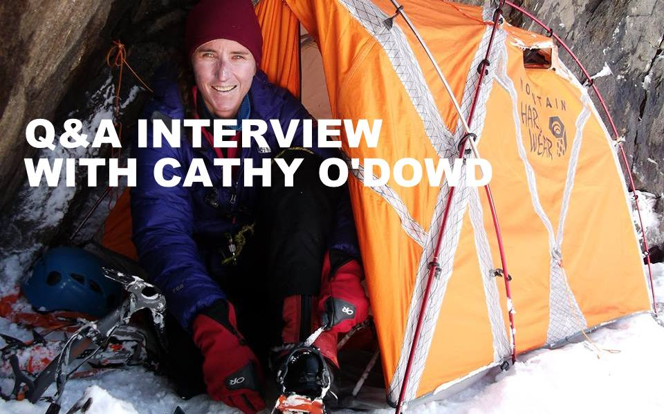 Q&A INTERVIEW WITH CATHY O'DOWD