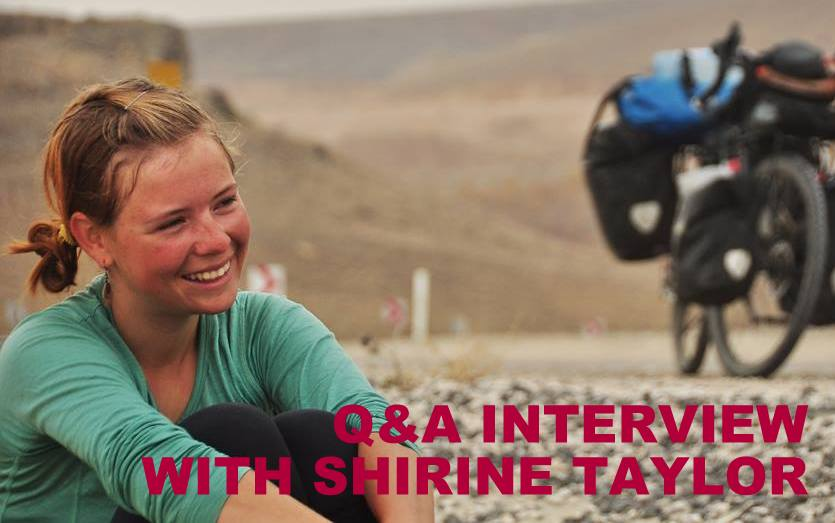 Q&A INTERVIEW WITH SHIRINE TAYLOR