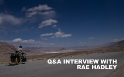 Q&A interview with Rae Hadley