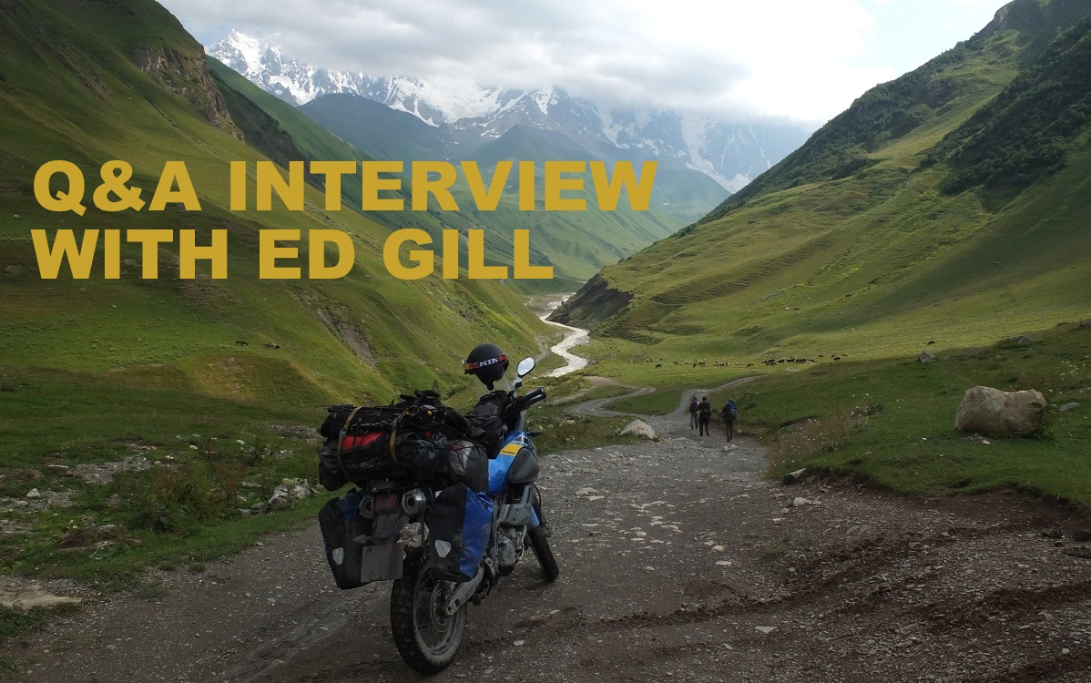 Q&A interview with Ed Gill