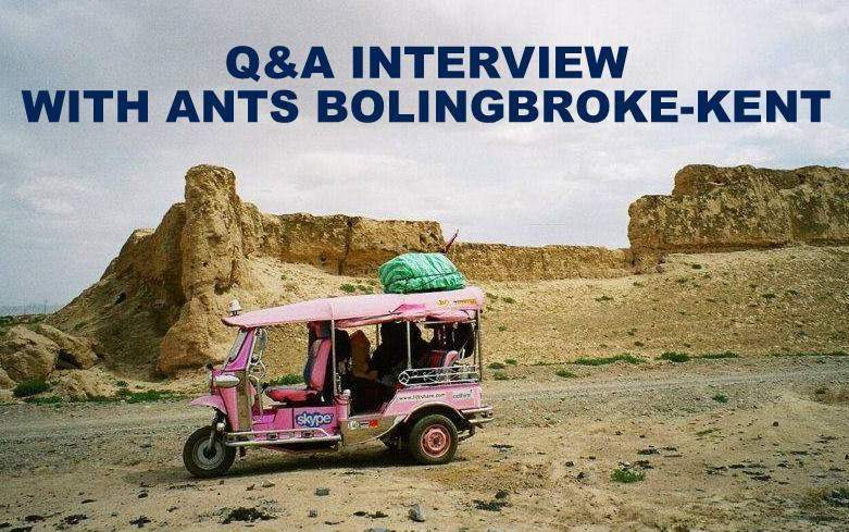 Q&A INTERVIEW WITH ANTS BOLINGBROKE