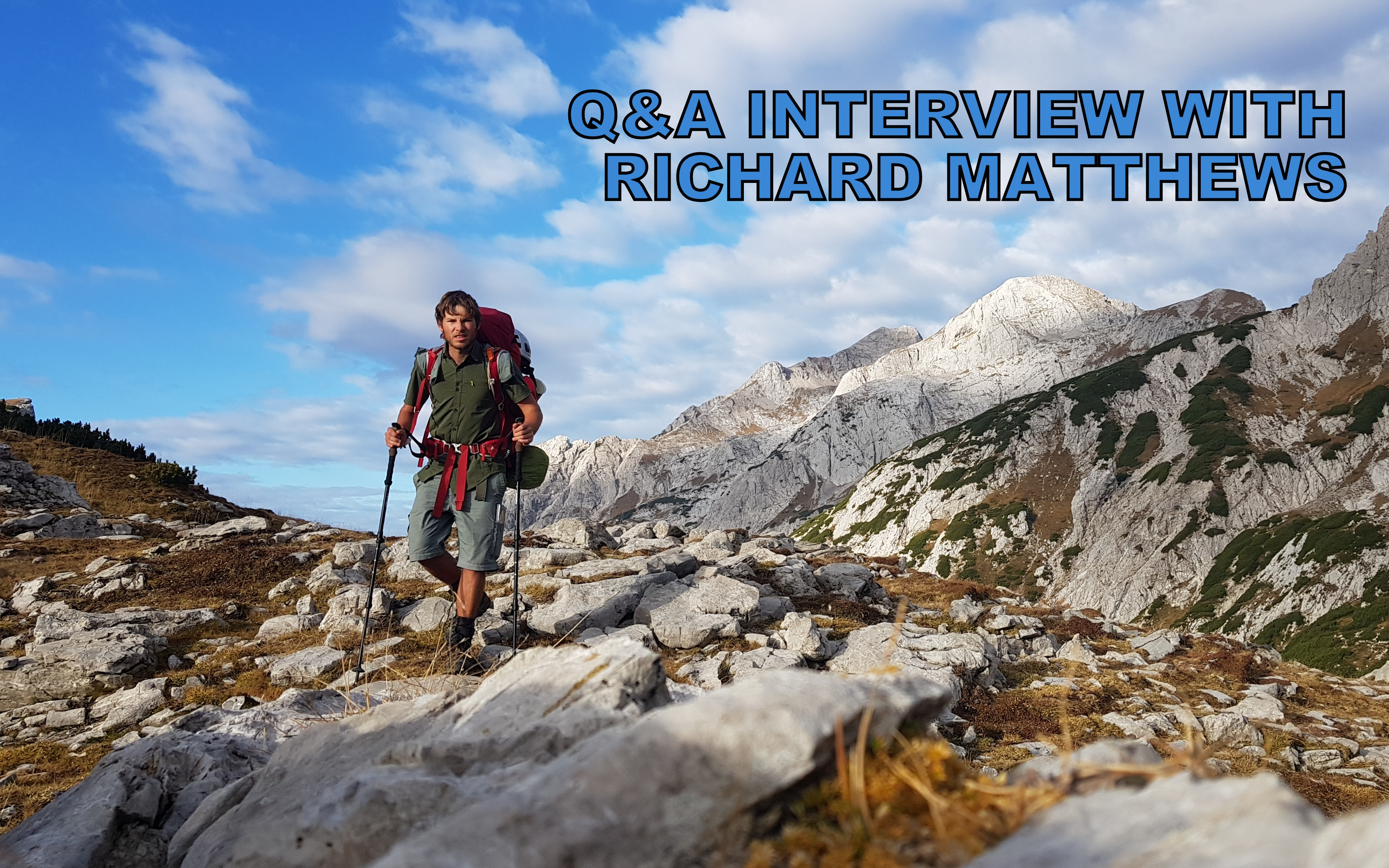 Q&A interview with Richard Matthews