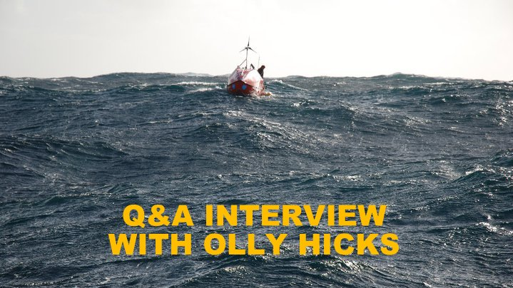 Q&A WITH OLLY HICKS
