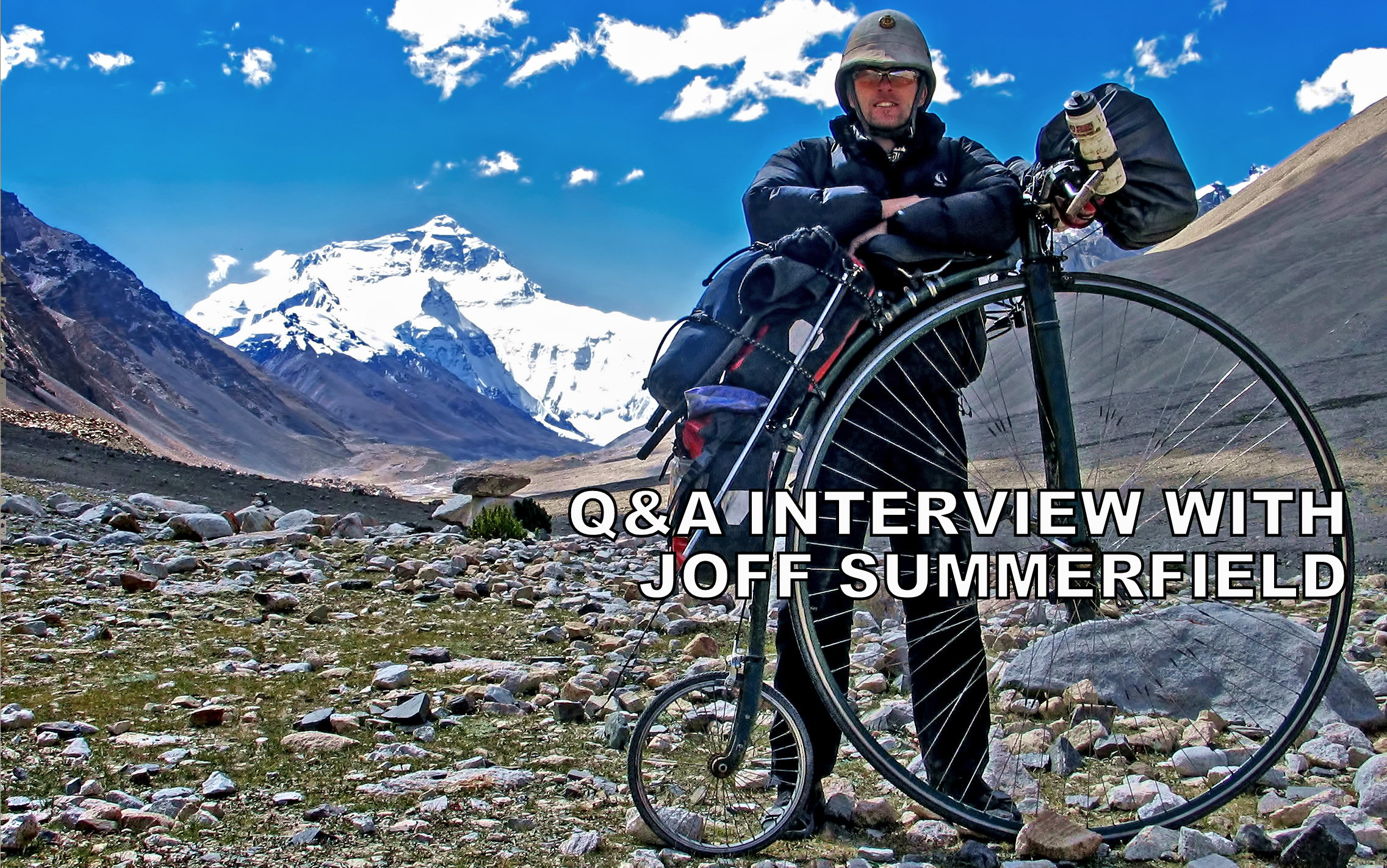 Q&A interview with Joff Summerfield