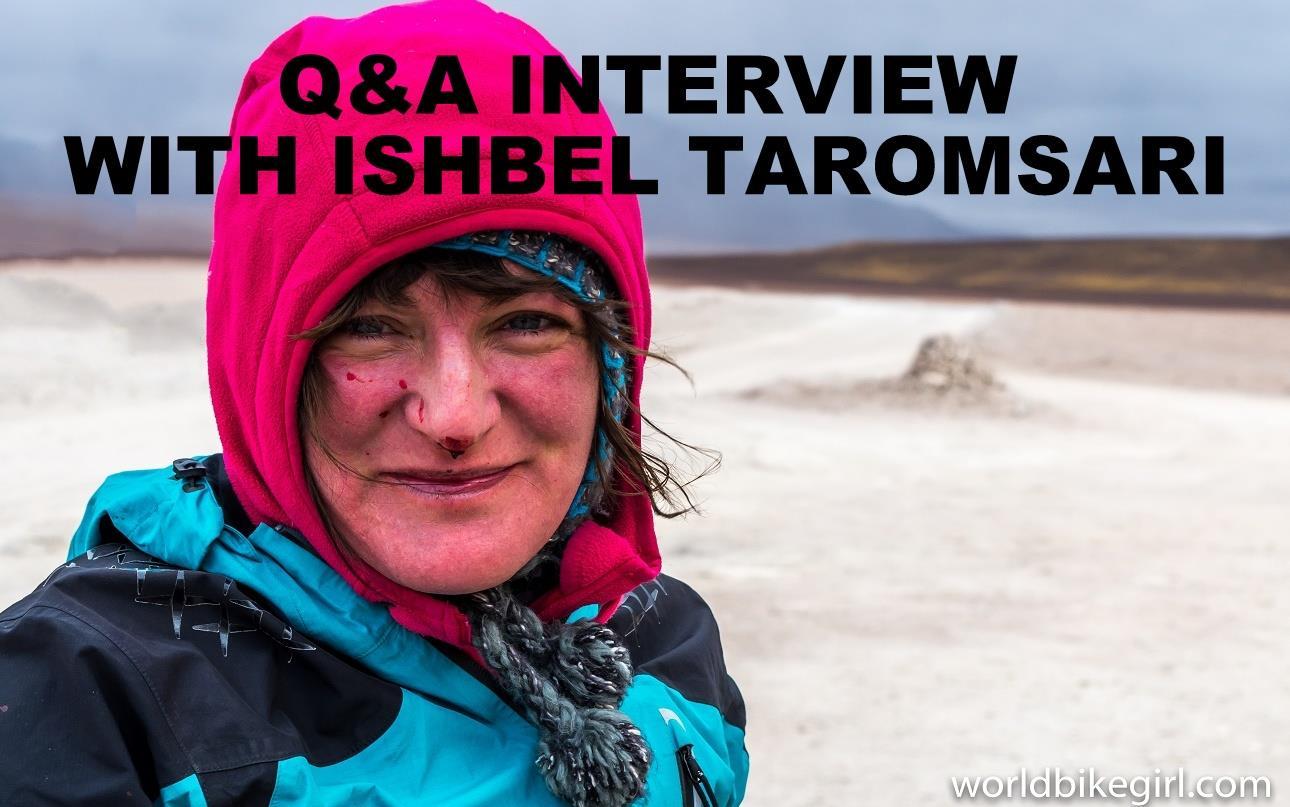 Q&A interview with Ishbel Taromsari