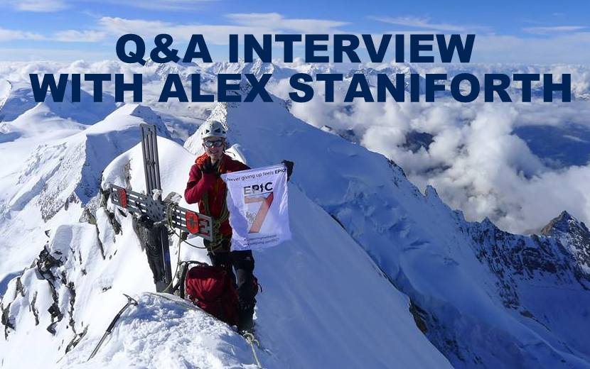 Q&A INTERVIEW WITH ALEX STANIFORTH