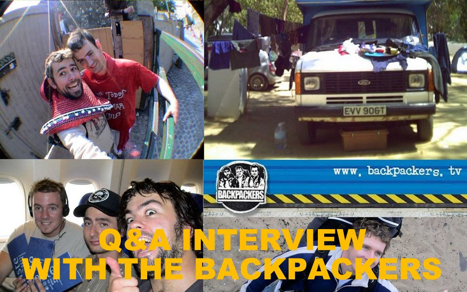 Q&A INTERVIEW WITH THE BACKPACKERS
