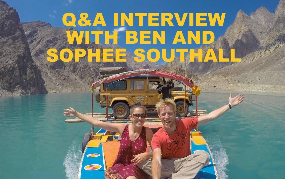 Q&A interview with Ben and Sophee Southall