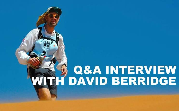Q&A INTERVIEW WITH DAVID BERRIDGE