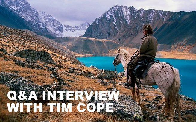 Q&A INTERVIEW WITH TIM COPE