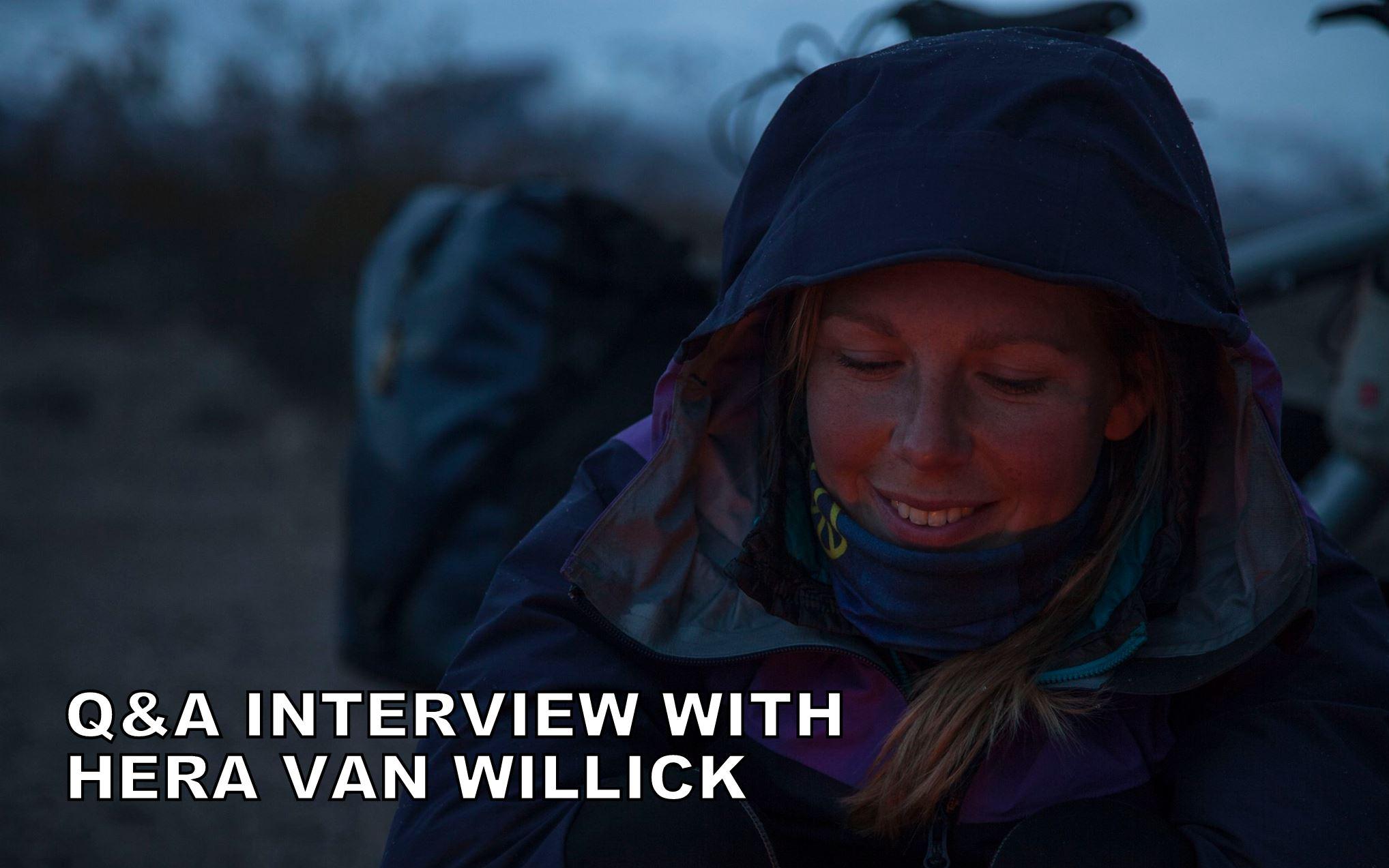 Q&A interview with Hera Van Willick