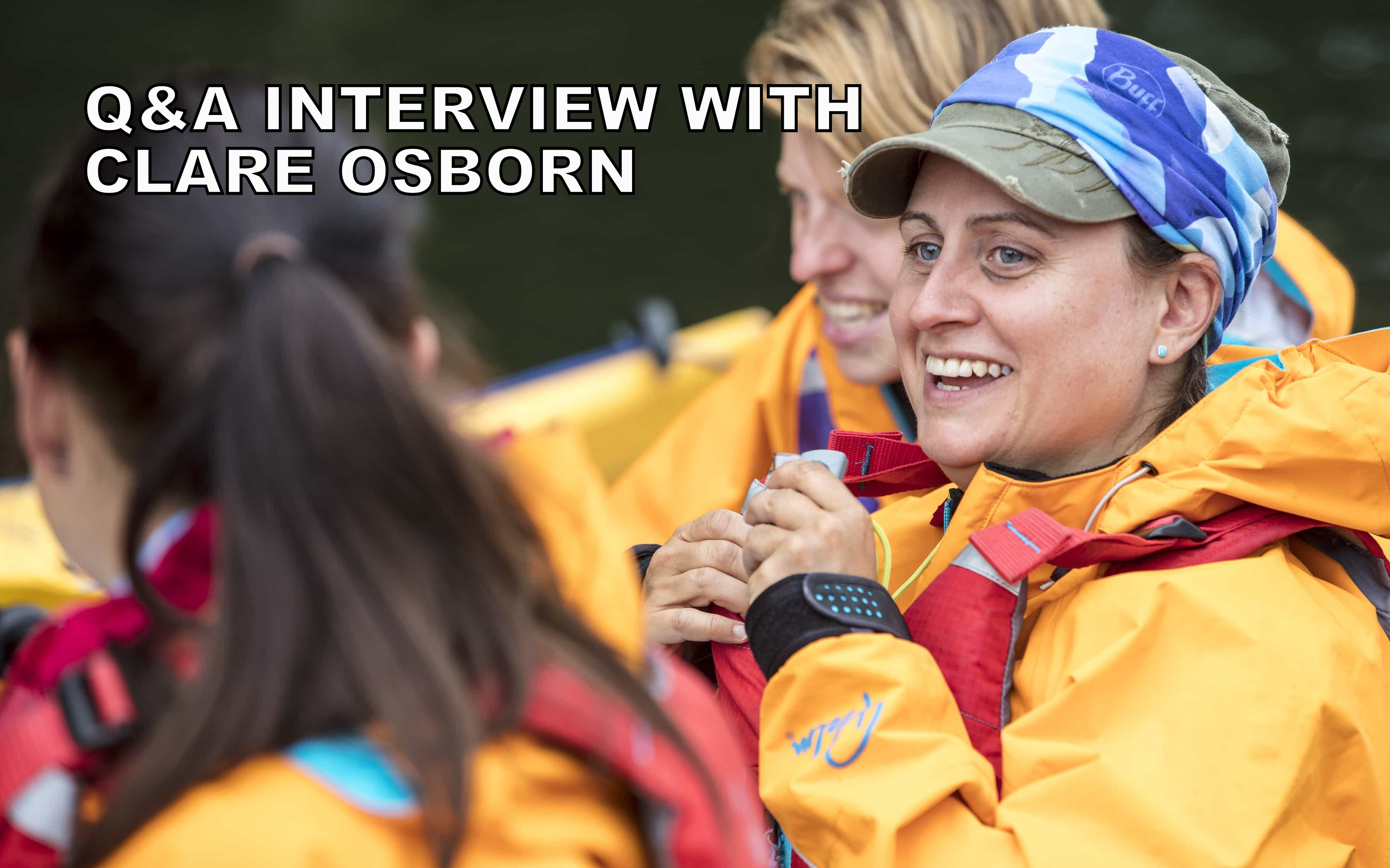 Q&A interview with Clare Osborn