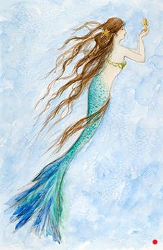 Mermaid and her Seahorse