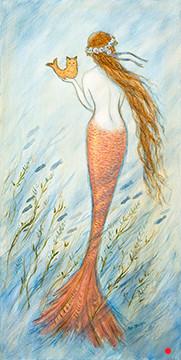 Mermaid and her Catfish