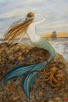 Mermaid and her Octopus