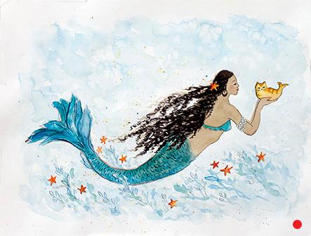 African Princess Mermaid