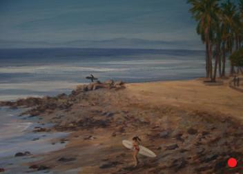 Detail, Surfer Girl