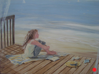 Christina by the Beach