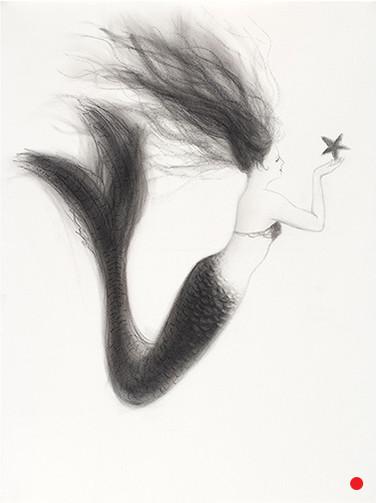 Mermaid with Starfish