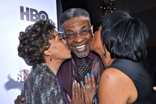 Love Jacked  Angela Gibbs, Keith David and Marla Gibbs - Love Jacked LA Opening Night