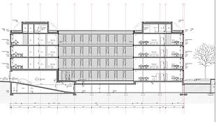 Astyx Campus Immobilien_Westgebäude_Schnitt