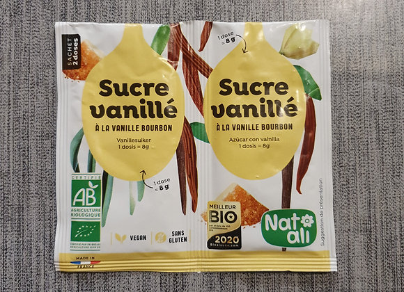 Sucre vanillé bio