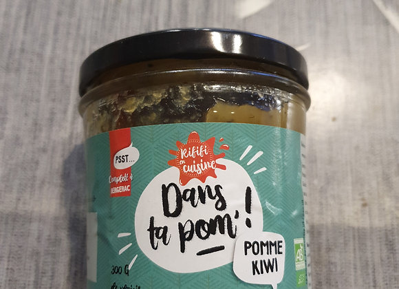 Compote bio pomme kiwi