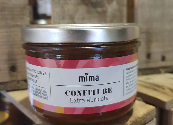 Confiture bio 60% fruits