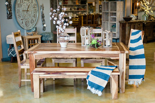 Sheesham Wood Table & Chairs