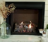 """42"""" Select Firebox w/ Super Sassafras Logs"""