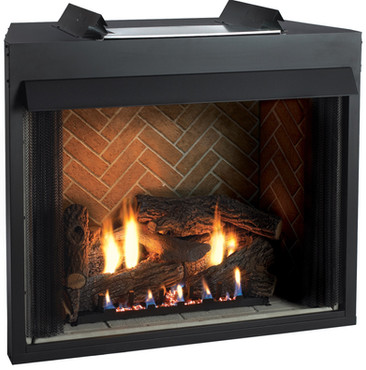 Select Firebox, Banded Brick Liner