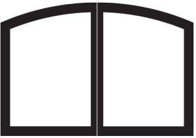 White Mountain Hearth - Decorative Arch